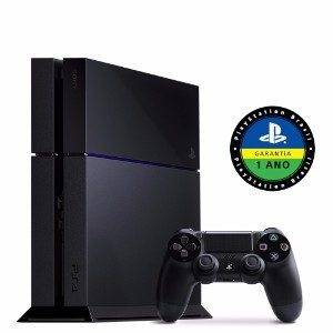 Console PS4 500GB + 1 Controle Dualshock- Sony